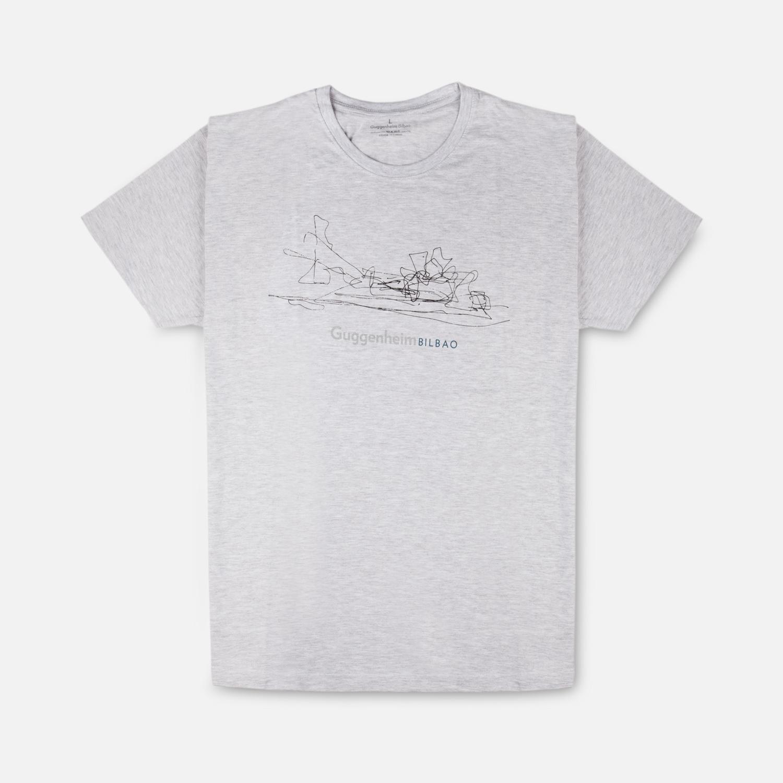 Camiseta croquis