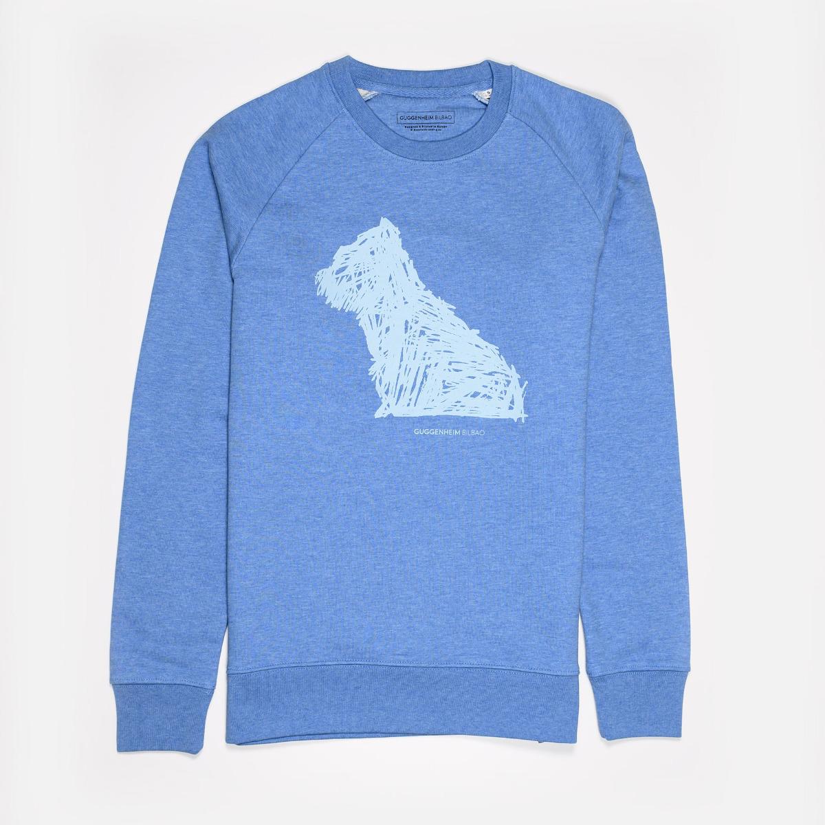 Sudadera Puppy azul
