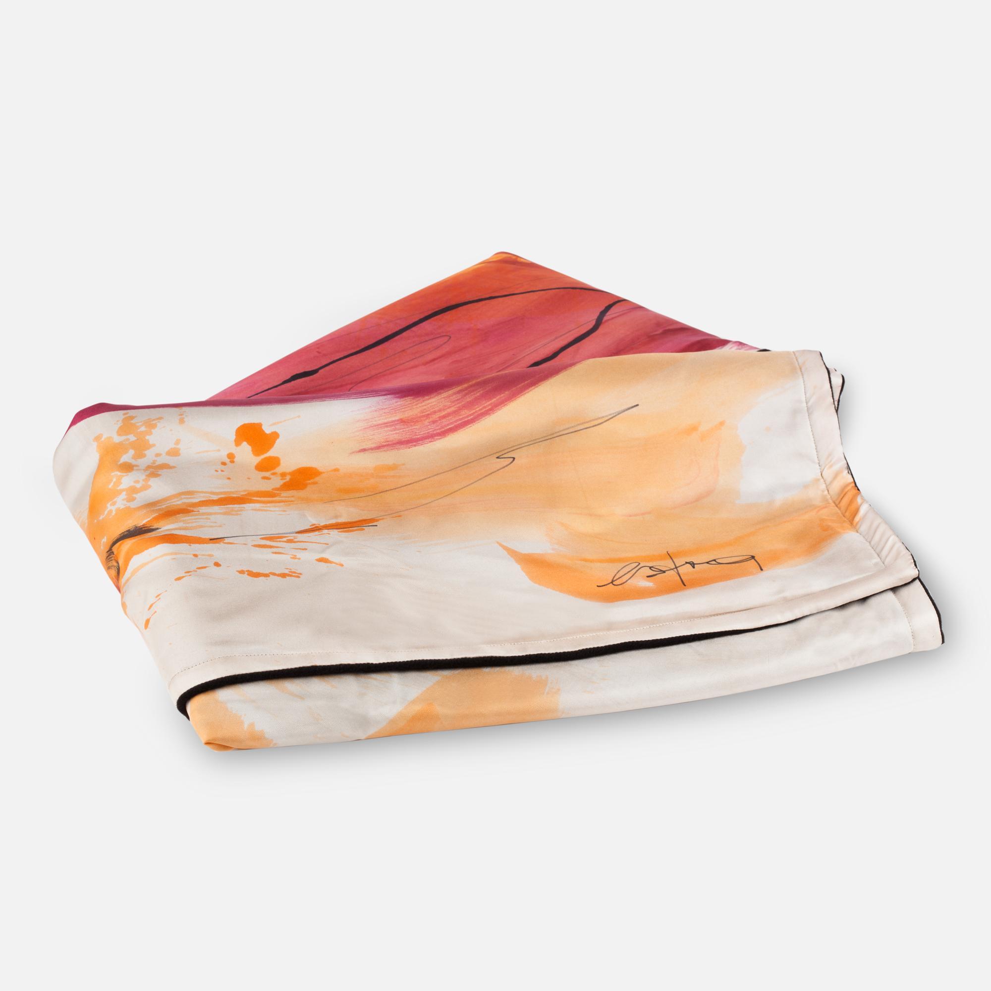 Orange Blanket