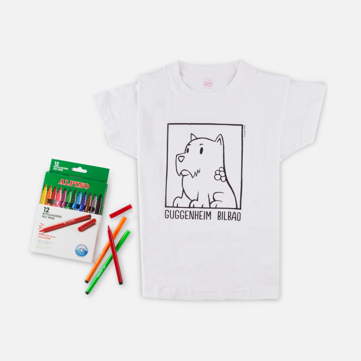 Coloring t-shirt