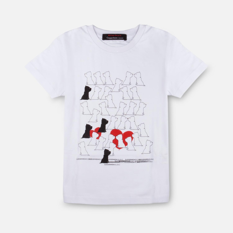 Camiseta infantil corazones