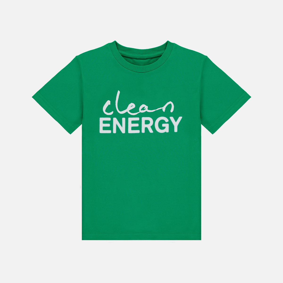 Camiseta infantil Clean Energy