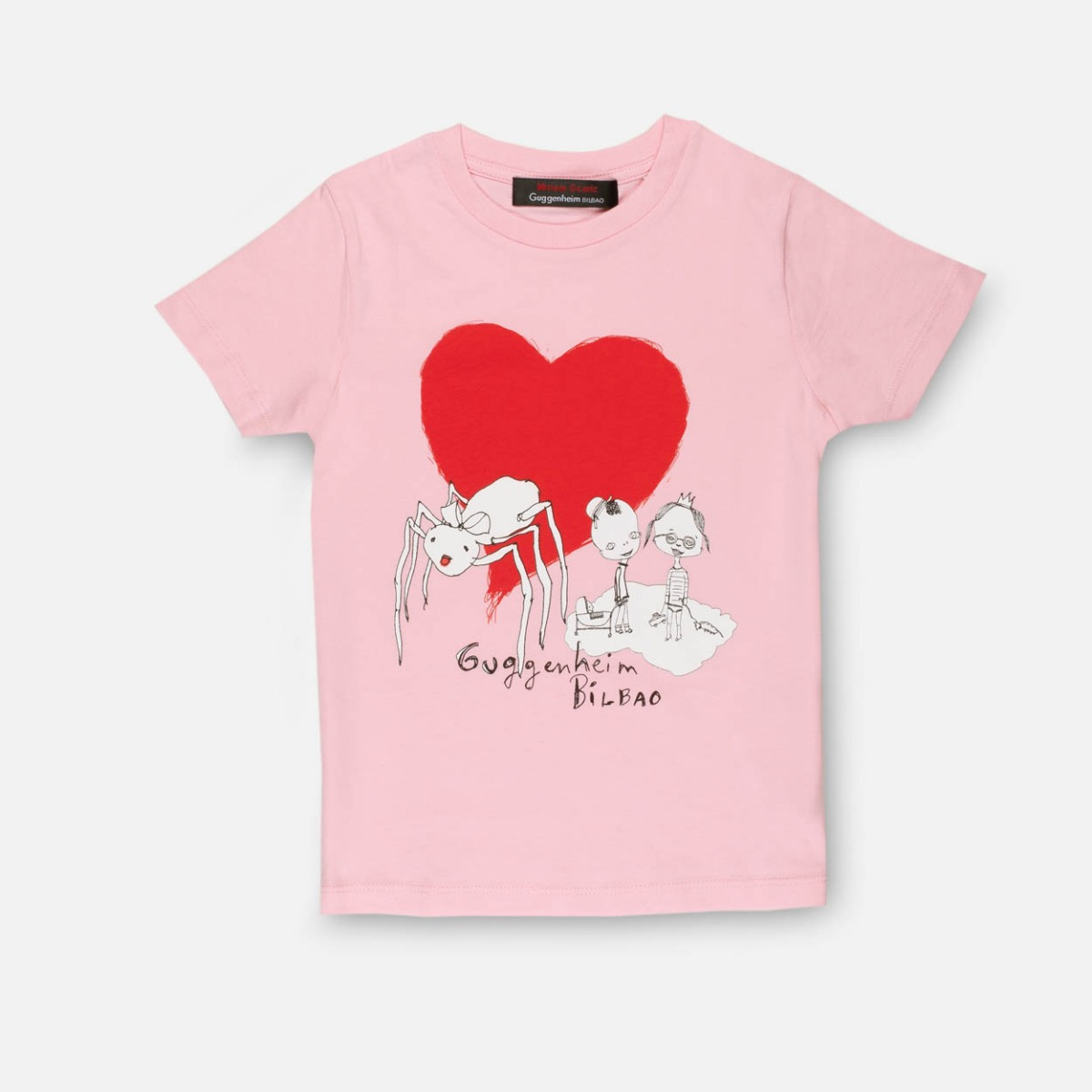 Pink children's Spider T-shirt