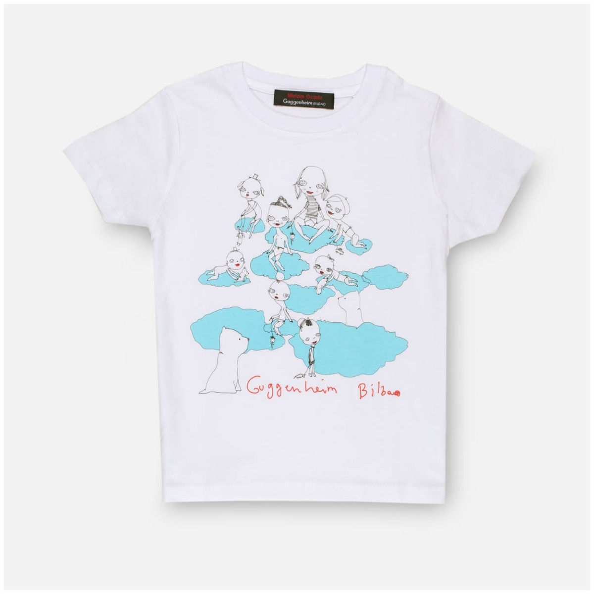 White children's Cloud T-shirt