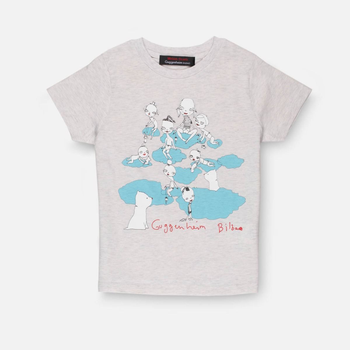 Gray children's Cloud T-shirt