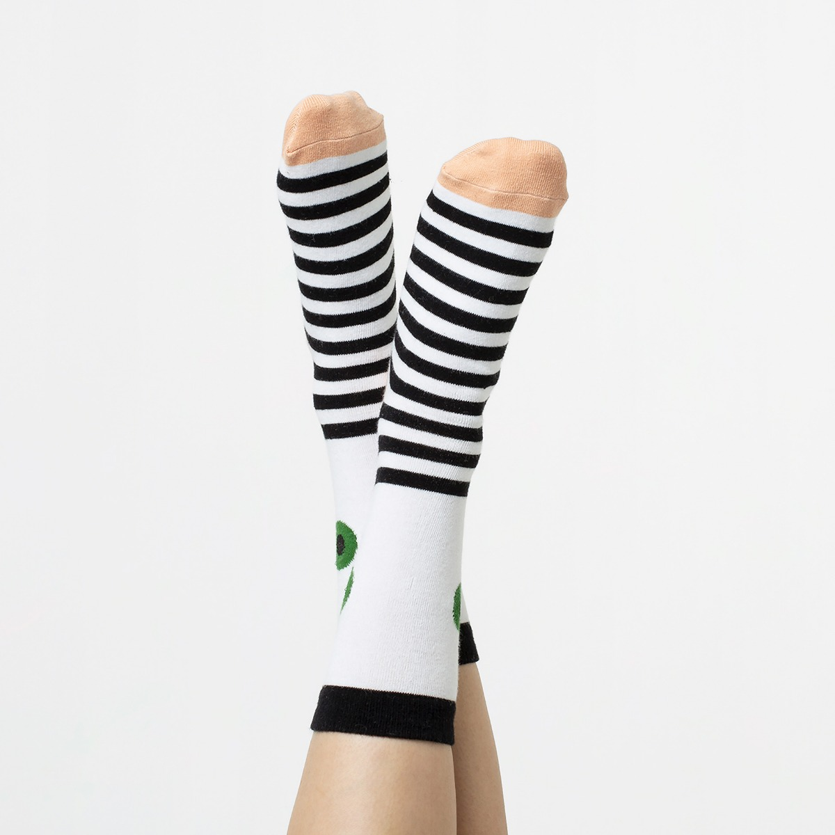 Calcetines Ojo verde