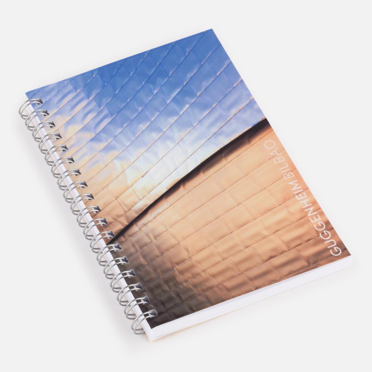 Titanium notebook