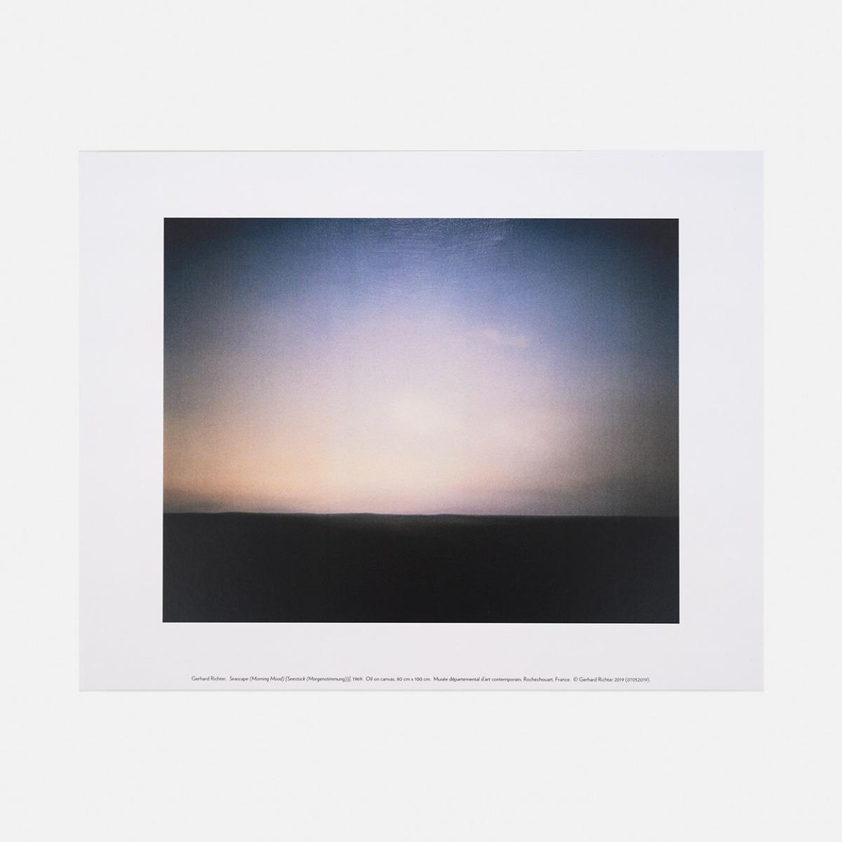 Print Seascape (Morning Mood), 1969