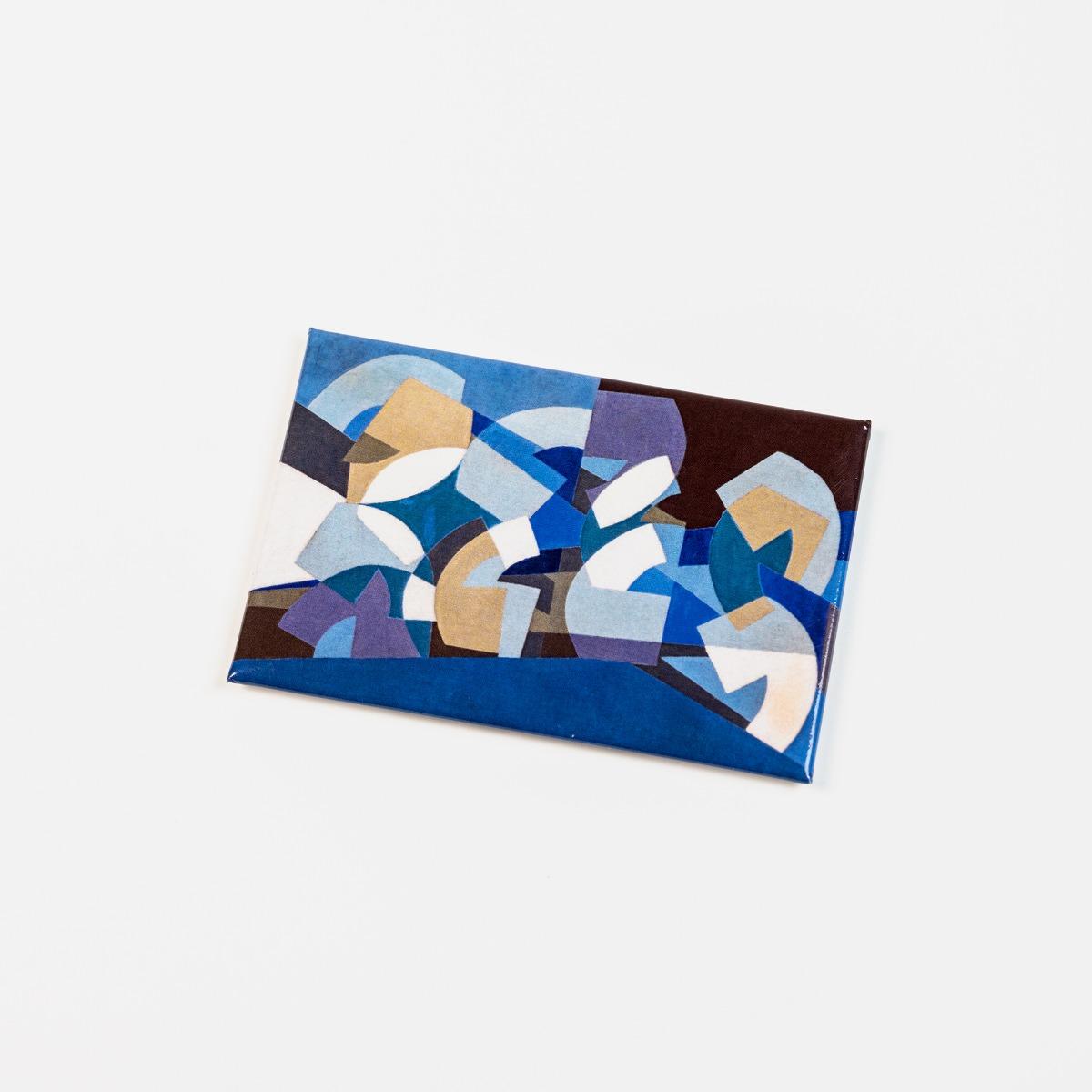 Composition in Blue Module  (1947–51)  Magnet
