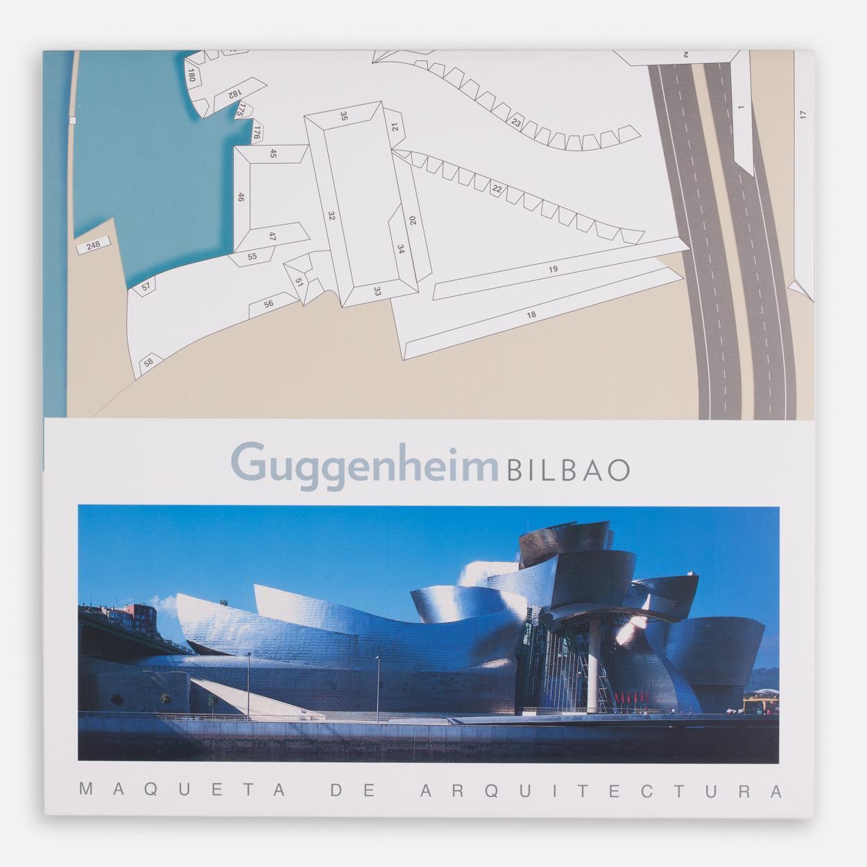 Model Guggenheim Bilbao building