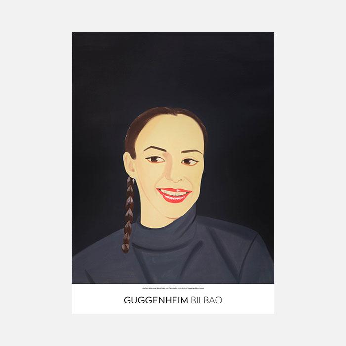 Alex Katz, Belinda sonríe, 1993