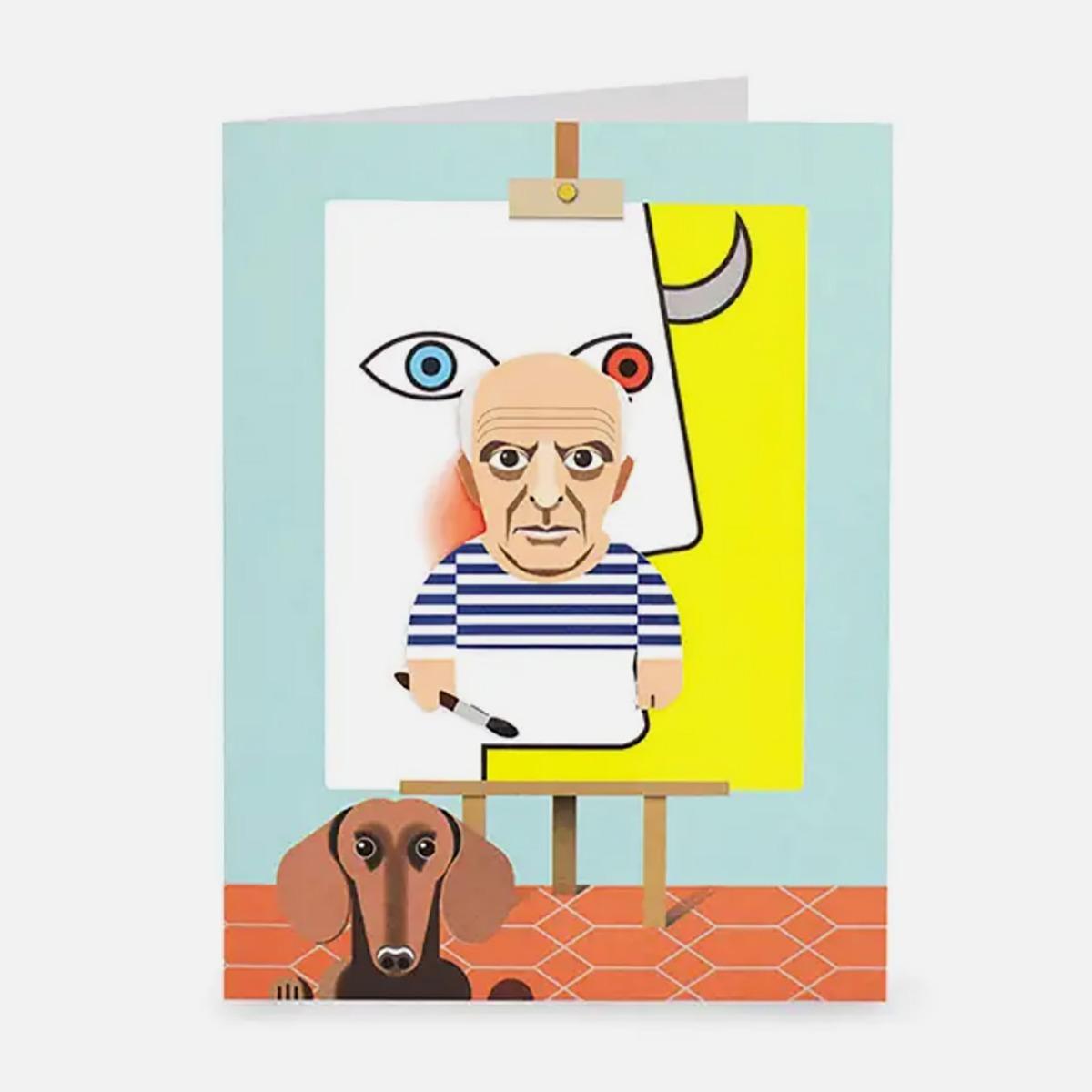 Cubism Postcard