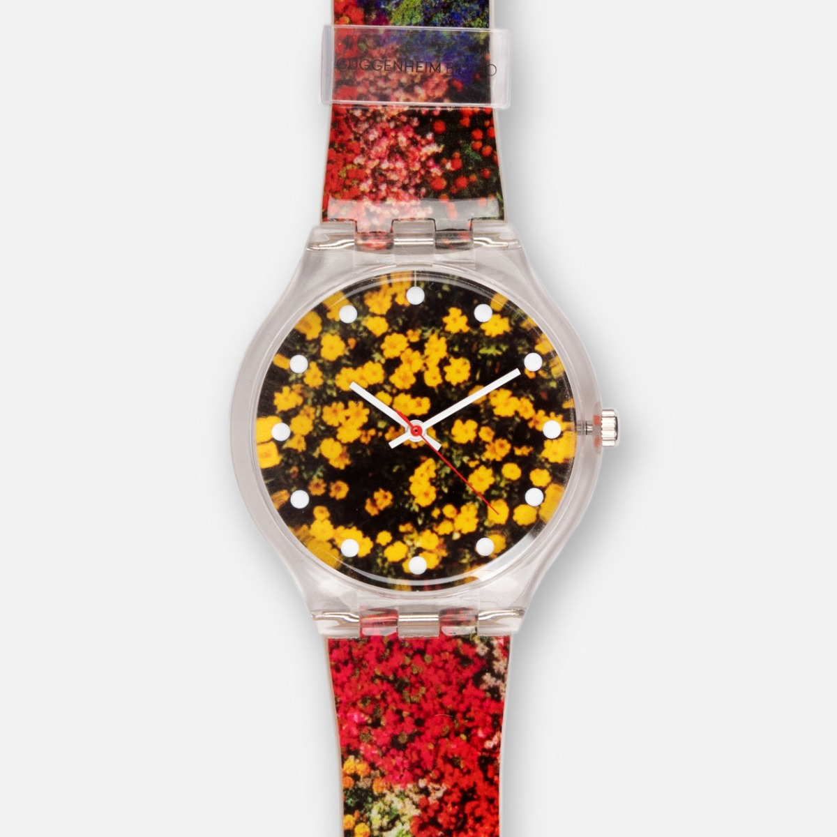GUGGENHEIM BILBAO FLOWERS WATCH