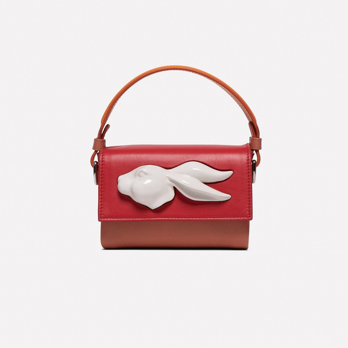 Flapmini Rabbit head handbag