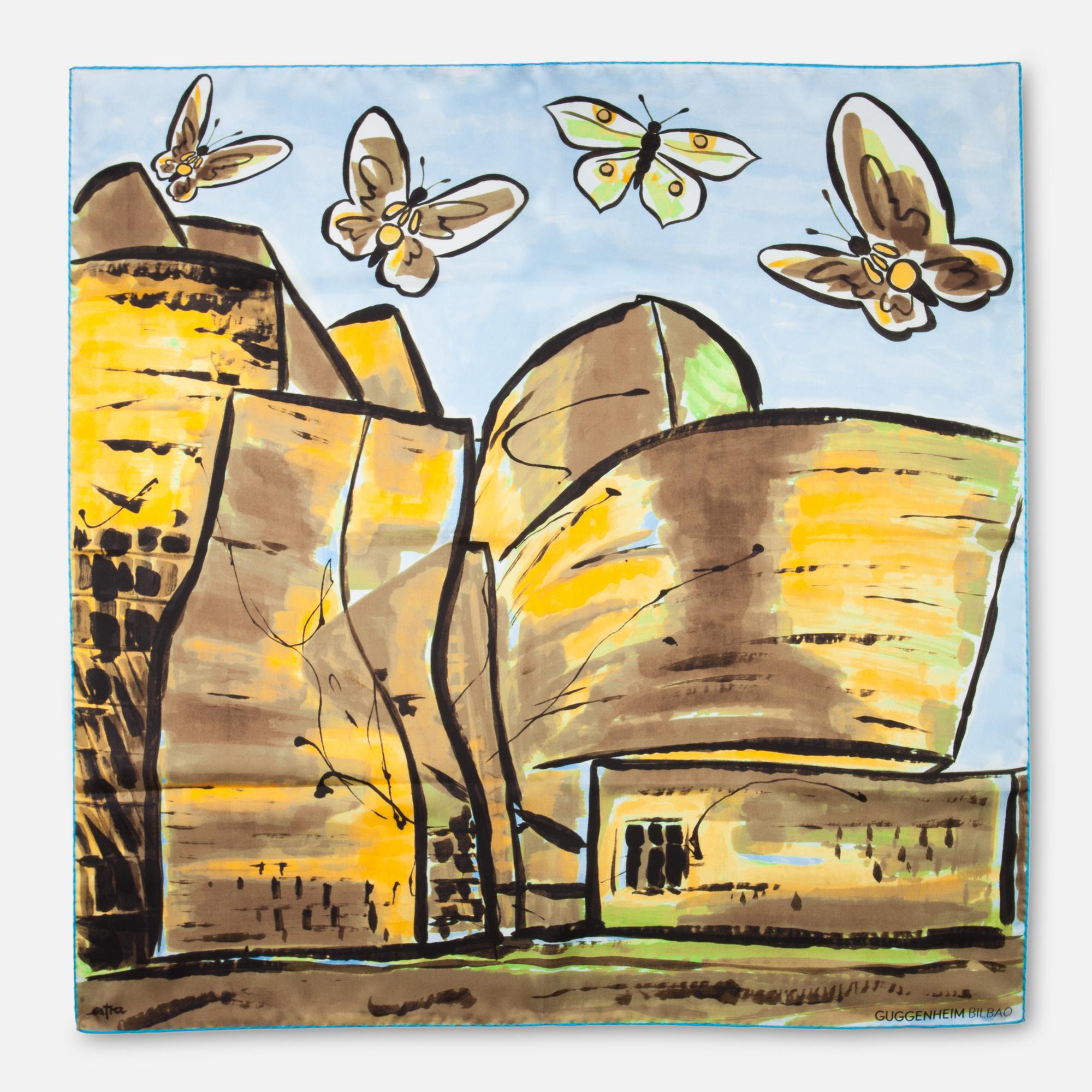 Pañuelo mariposas