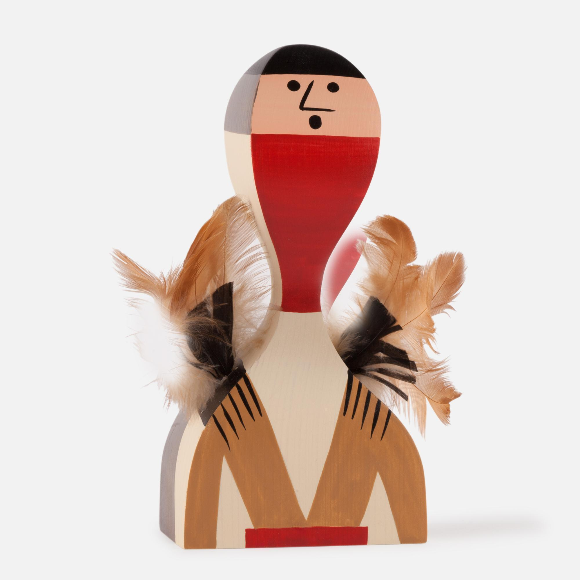 Wooden doll Nº 10