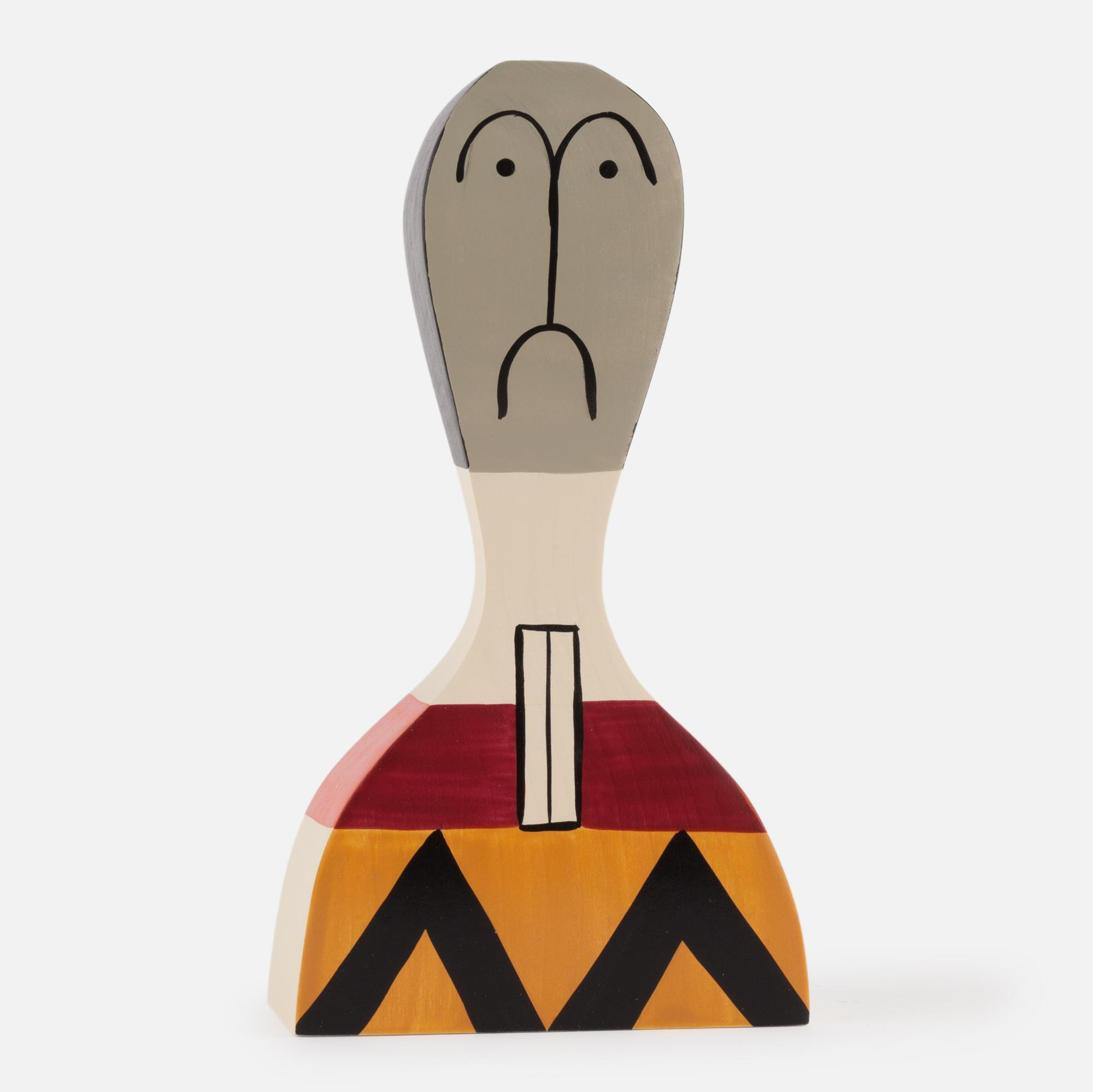 Wooden doll Nº 17