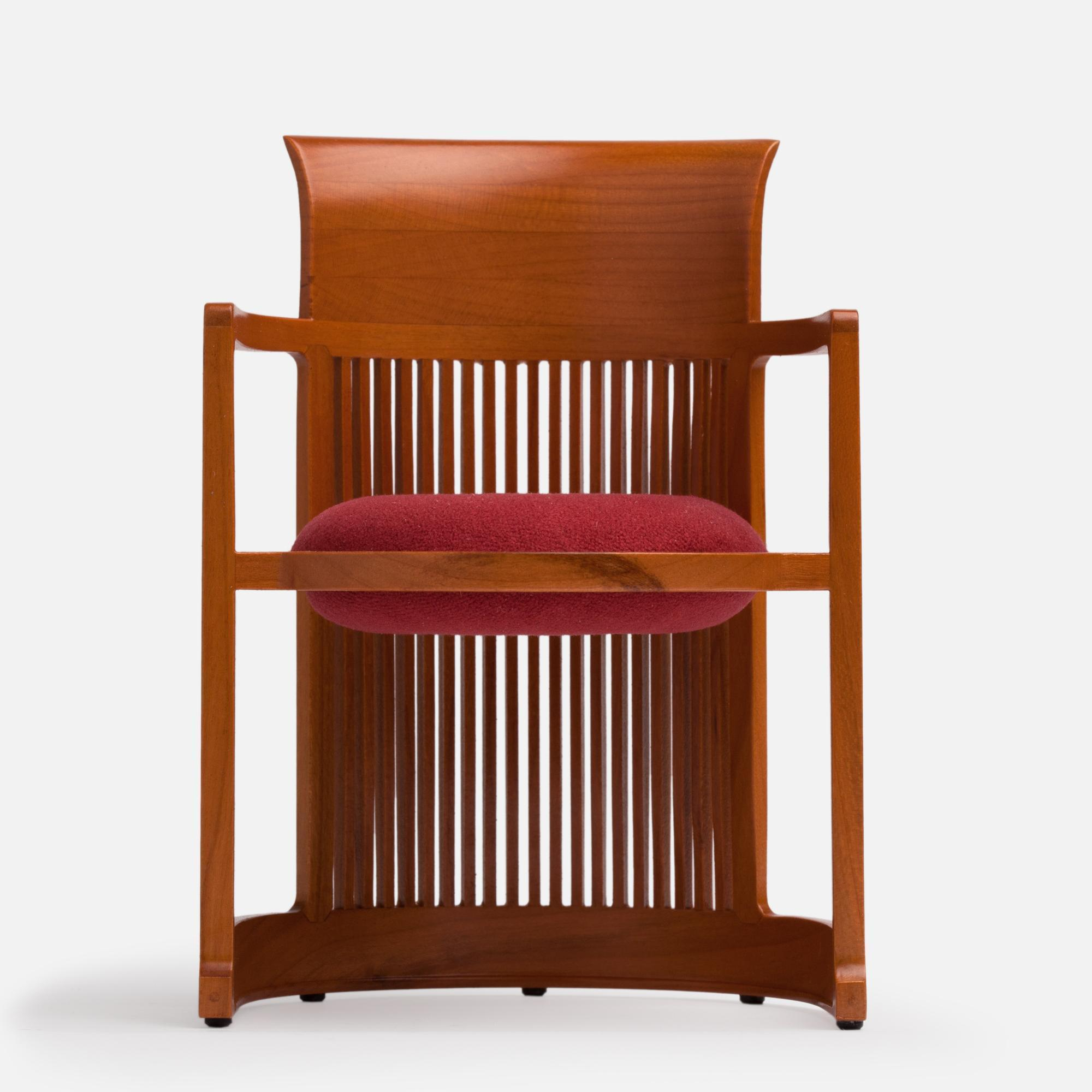 Miniature Frank Lloyd Wright's Barrel Chair, 1904