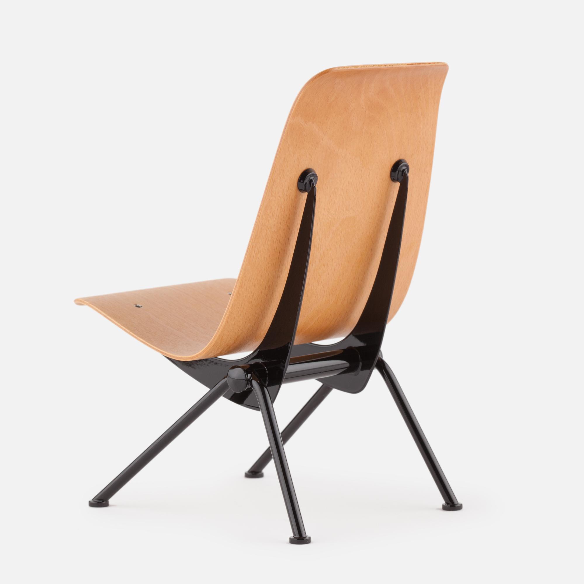 Miniature Jean Prouvé's  Antony Chair, 1954