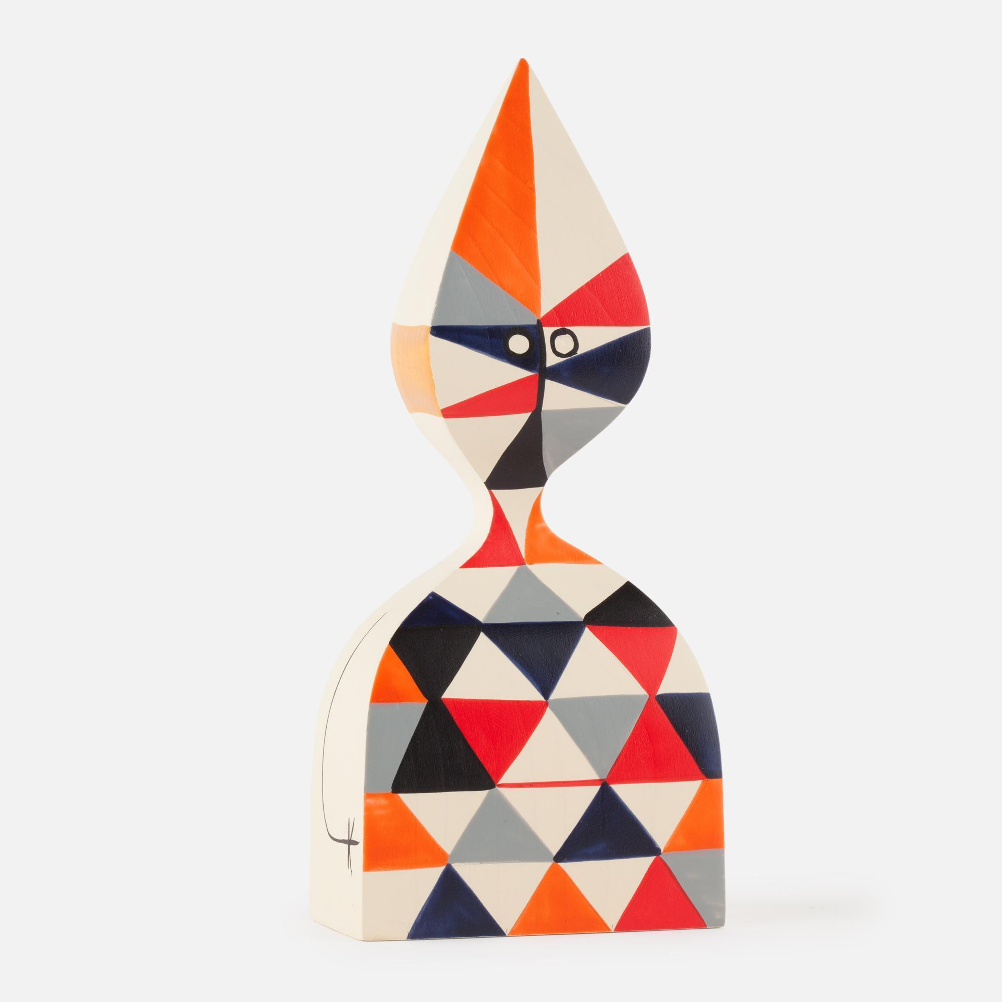 Wooden doll Nº 12
