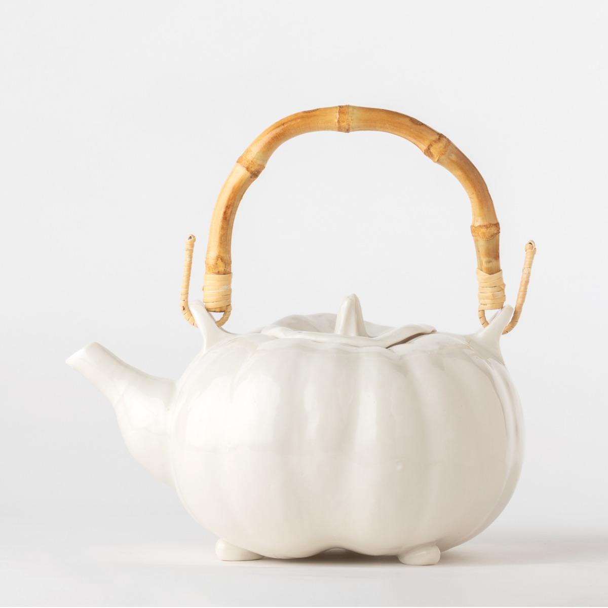 Teapot – Pumpkin