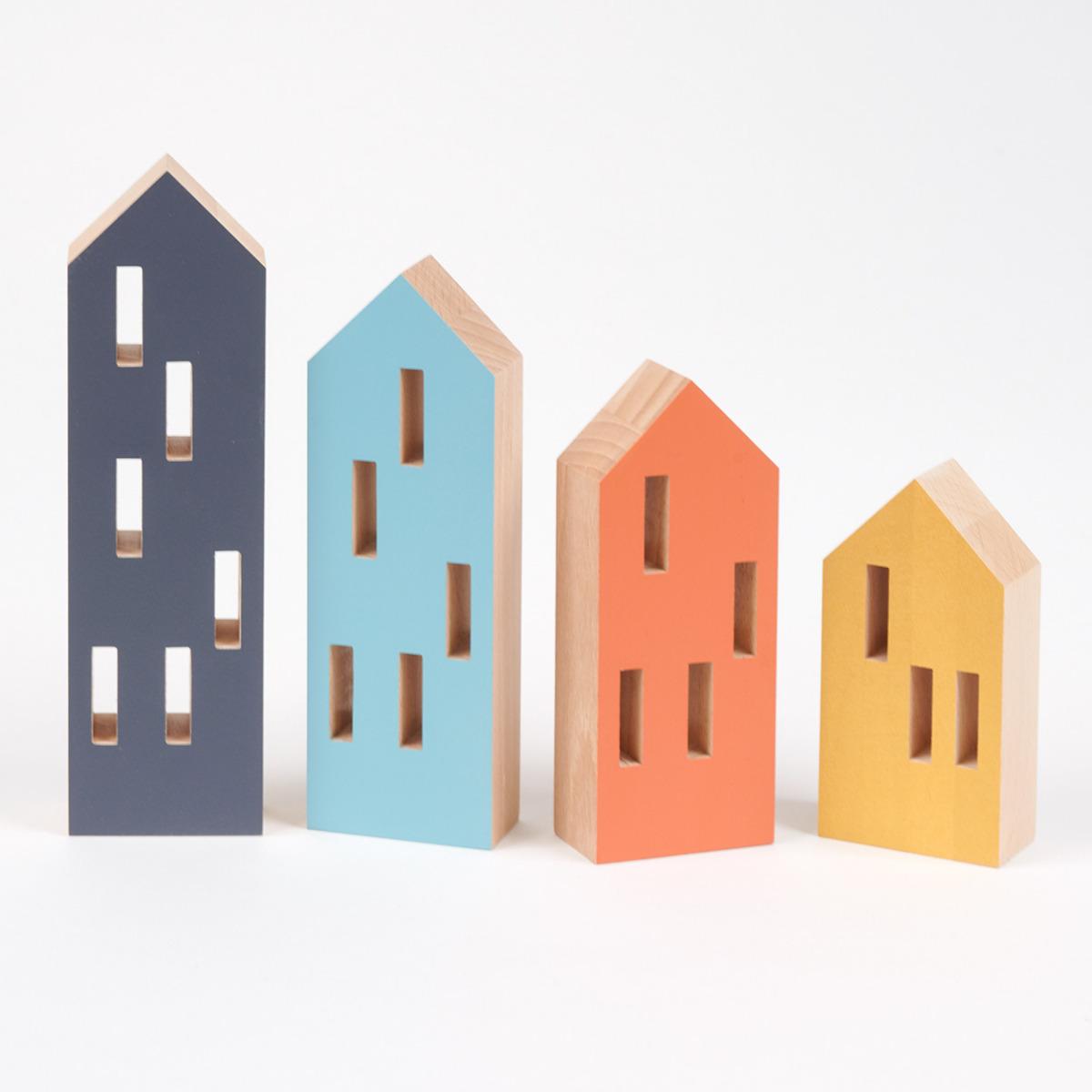 Siluetas de edificios original