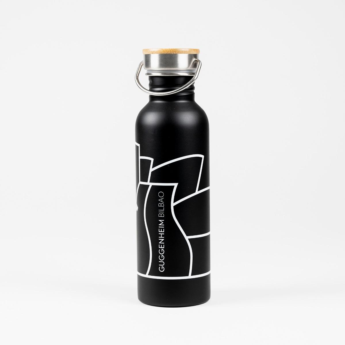 Guggenheim Bilbao Metal Bottle