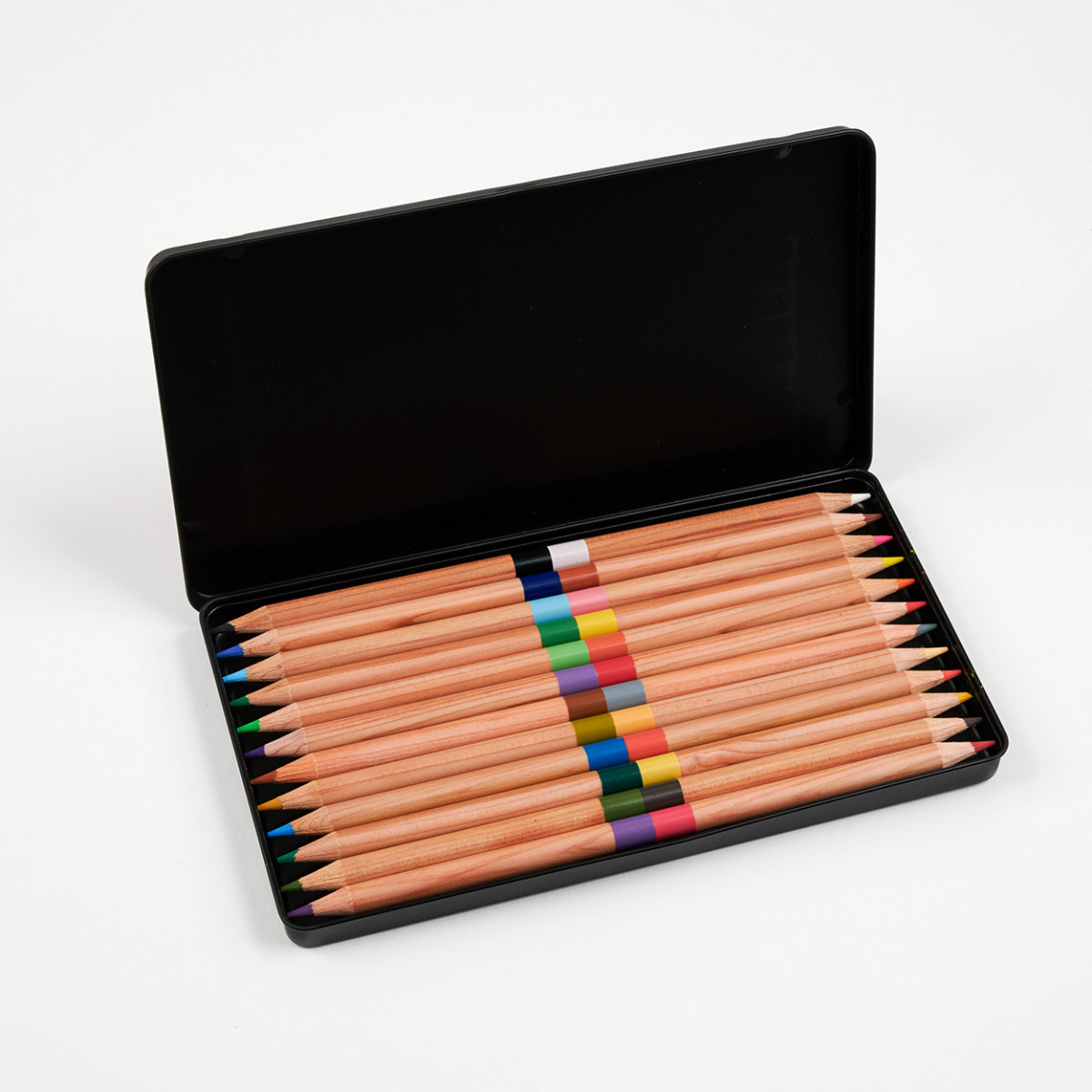 Plate of Peaches box of pencils