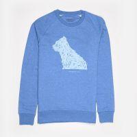 Blue Puppy Sweatshirt