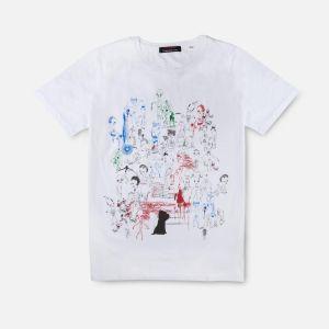 Camiseta Personajes y Puppy