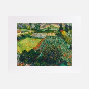 Field with Poppies print, 1889
