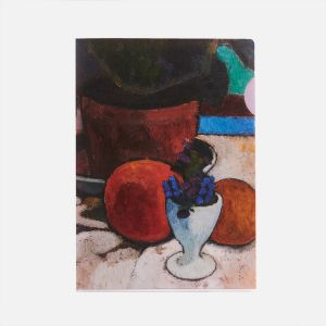 Still Life with Foliage Plant and Eggcup, ca. 1905, folder