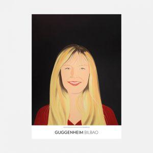 Alex Katz, Karen sonríe, 1994