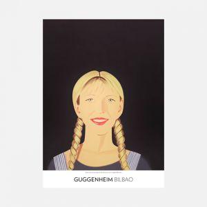 Alex Katz, Jessica sonríe, 1994