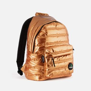 Metal padded backpack