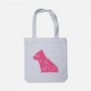 Puppy sketch bag
