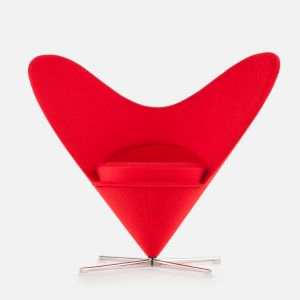 Silla Heart-Shaped Cone, Verner Panton, 1959