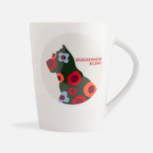 Taza Puppy Flores