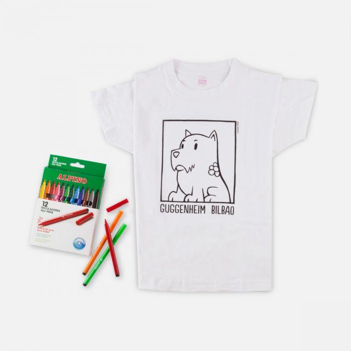 Camiseta Para Colorear